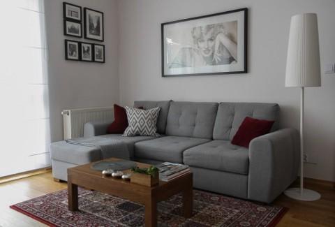 Aranżacja mieszkania na Mokotowie, 78 m²