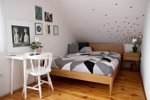 Metamorfoza pokoju nastolatki (mieszkanie na Ursynowie), 15 m²