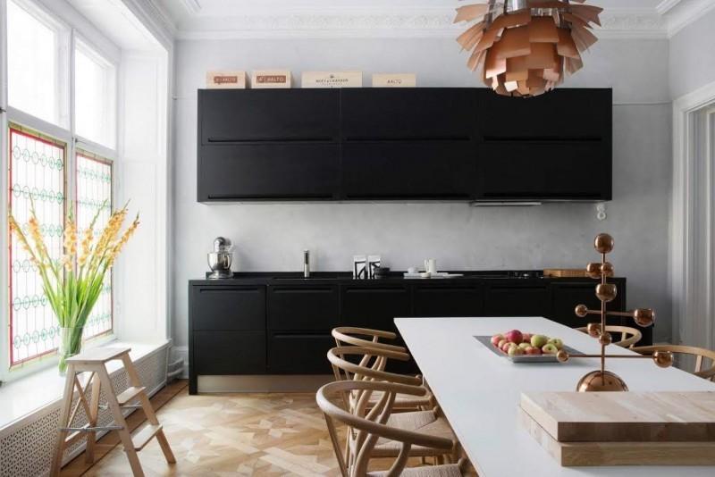Kuchnia na jednej ścianie_2