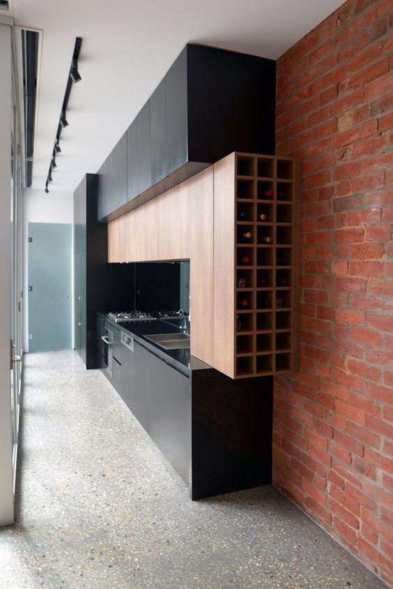 Kuchnia na jednej ścianie_3
