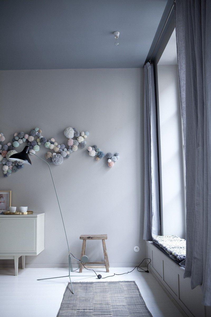kobiece mieszkanie w pastelach